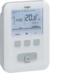 thermostat d 39 ambiance programmable digital 2 fils sur 7. Black Bedroom Furniture Sets. Home Design Ideas